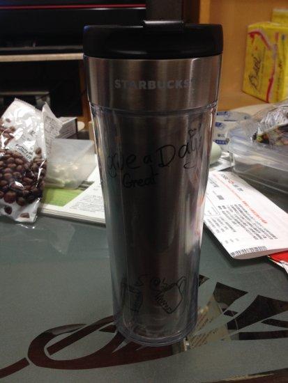 日本星巴克隨行杯 - 塗鴉杯
