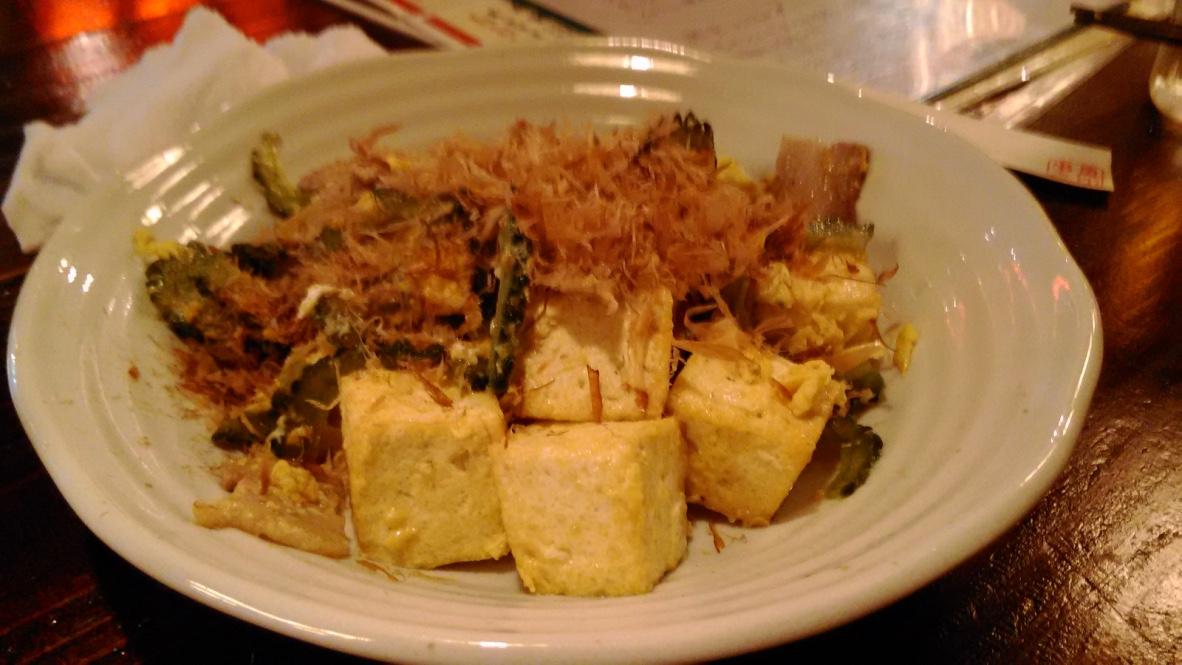 苦瓜炒豆腐