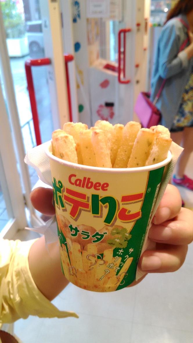 Calbee 薯條