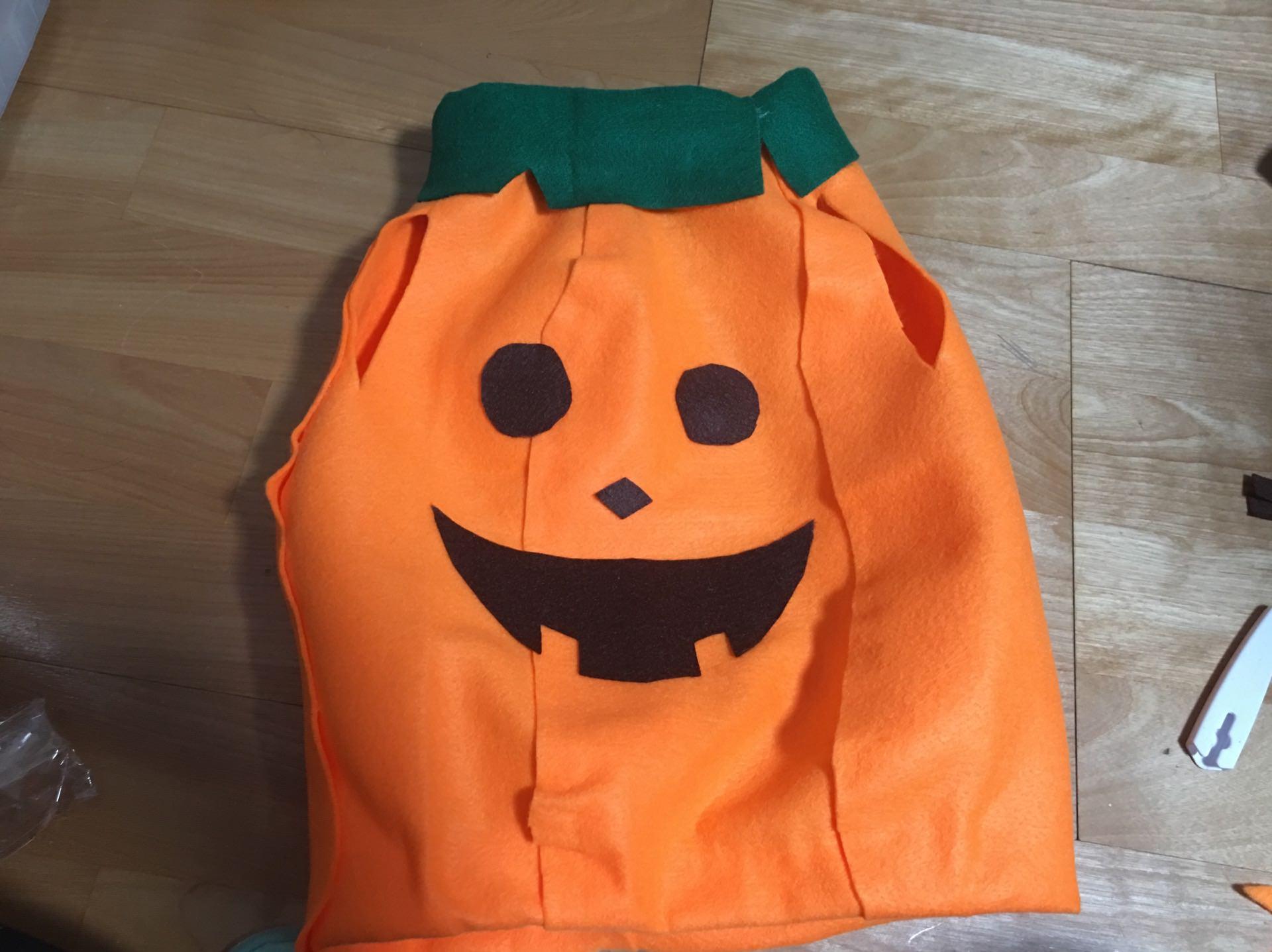 萬聖節 Halloween 南瓜裝 DIY