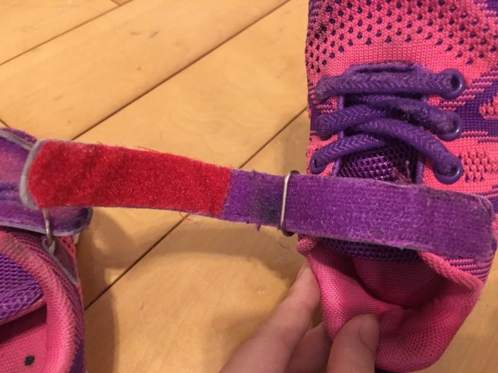 芊比媽的維修筆記 — 修理布鞋