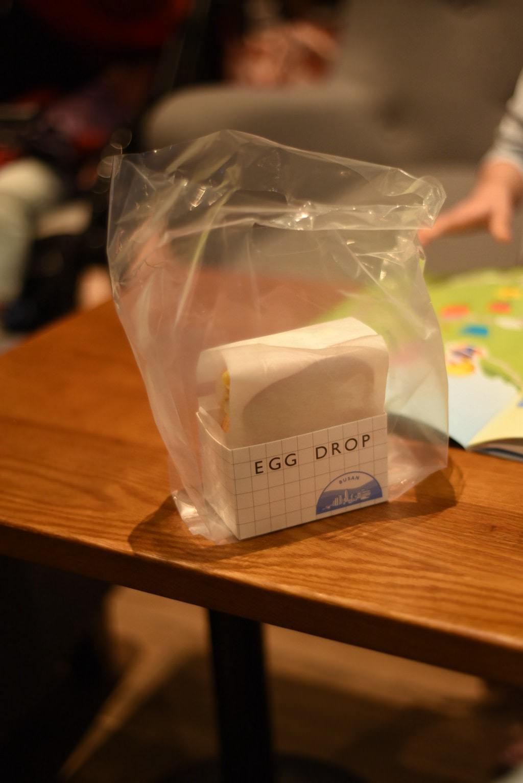 釜山-EGG DROP美味滑蛋土司