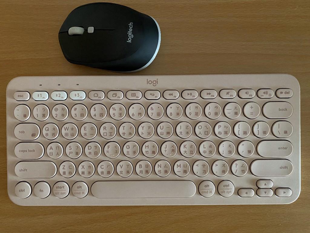 羅技 Logitech 藍芽鍵盤 K380