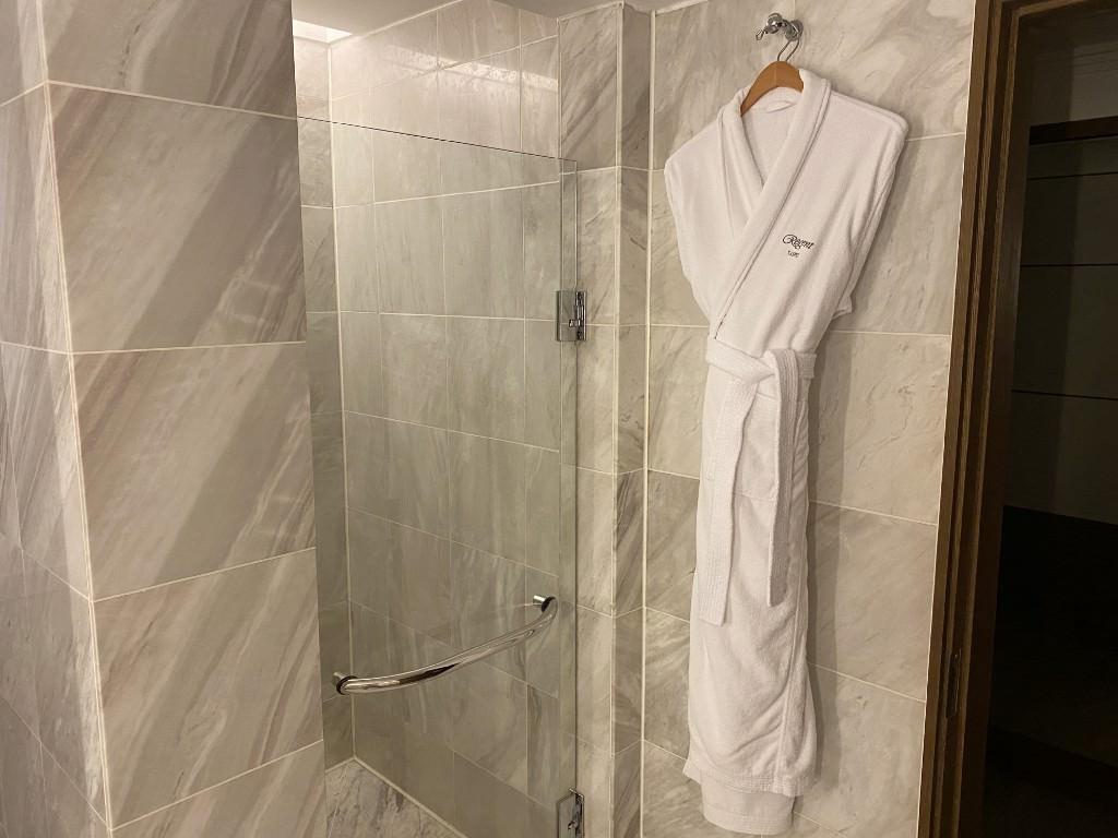 五星級晶華酒店入住